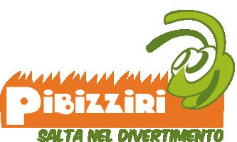 Logo Pibizziri, noleggio giochi gonfiabili
